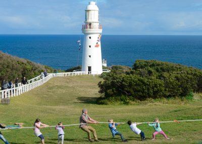 Cape Otway Lightstation - Tug of War