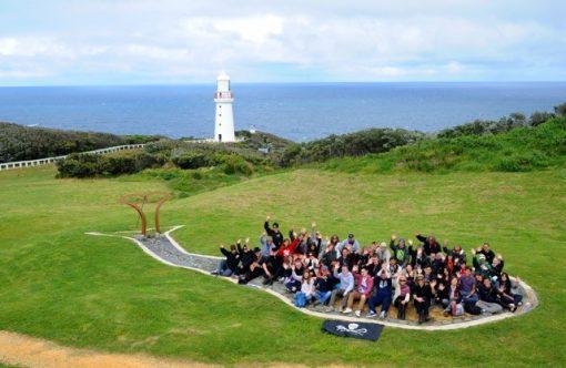 Sea Shepherd visit cape otway lighthouse