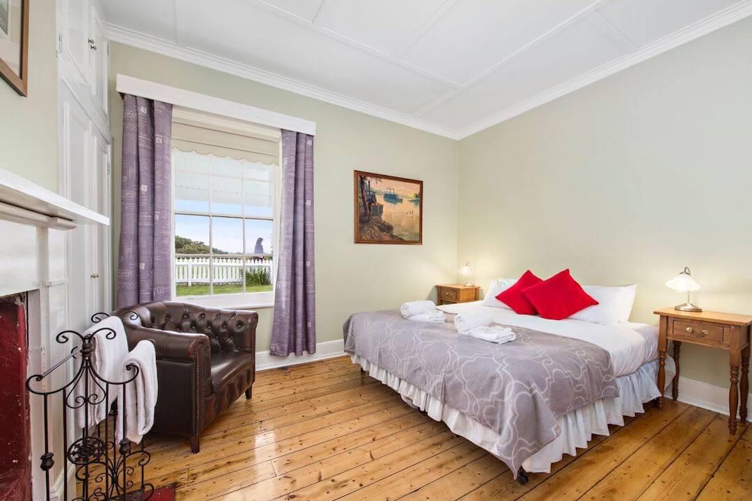 Lightkeepers Cottage - Bedroom