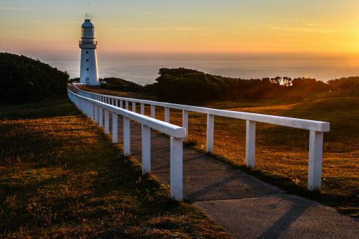 Beautiful Sunrise over Cape Otway Lighthouse
